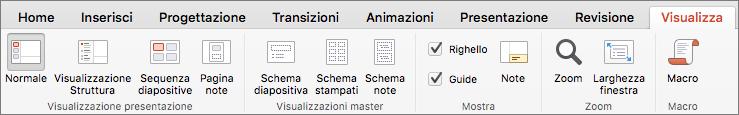 Scheda Visualizza