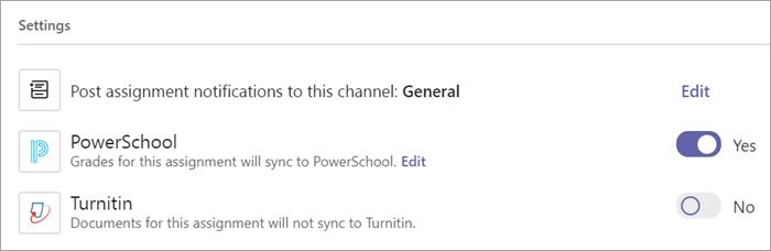 PowerSchool Toggle