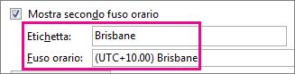 Fuso orario di Brisbane