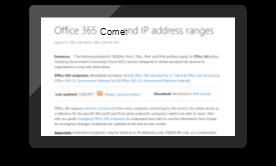 Identificare il traffico di Office 365