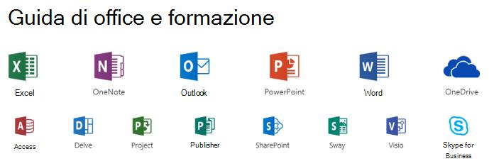 Opzioni di supporto per Microsoft Office