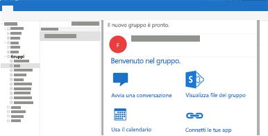 Visualizzare e leggere o rispondere alle conversazioni di gruppo in Outlook per Mac