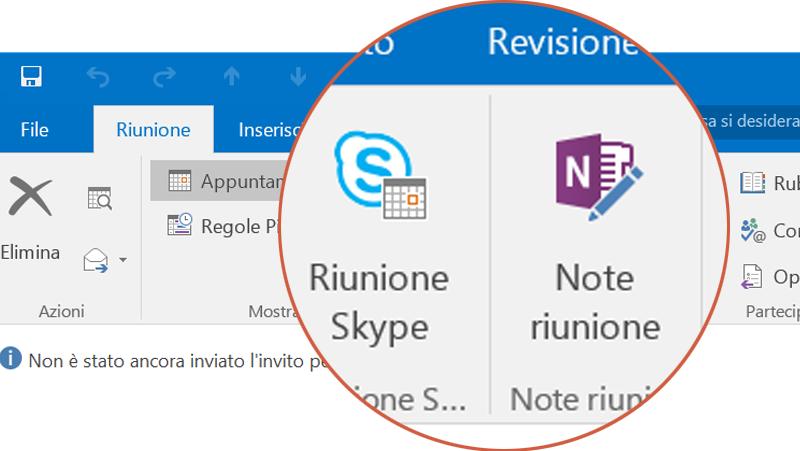 Collaborare con Skype e OneNote