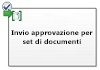 Invia approvazione per set di documenti