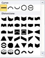 Opzioni di modifica delle forme WordArt in Publisher 2010