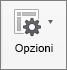 Per nascondere la tastiera, toccare il tasto Tastiera in basso a destra.