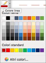 Scegliere un colore