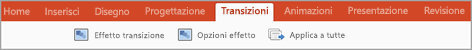 Scheda Transizioni