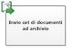 Invia set di documenti all'archivio