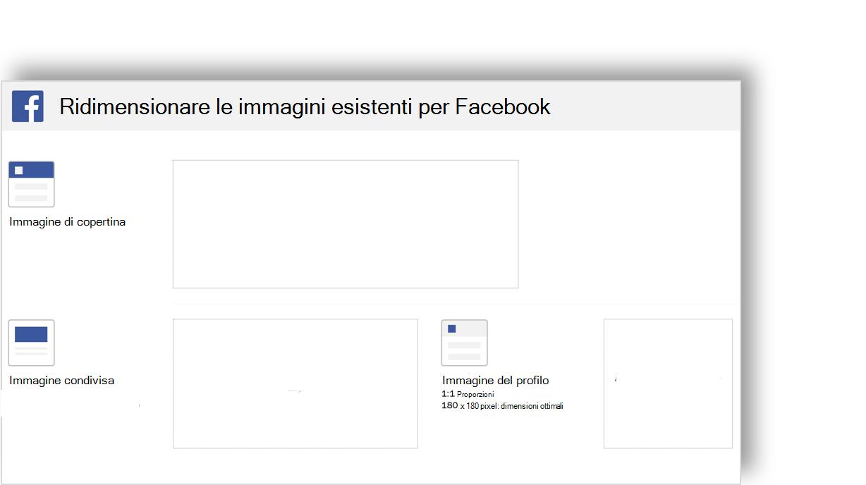 Immagine concettuale di un modello di immagine di social networking