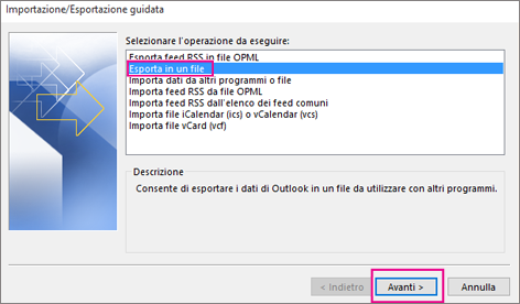 come copiare contatti outlook su iphone