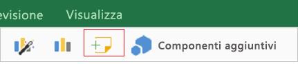 Aggiungere un commento in Excel per iPad