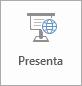 Pulsante Presenta online