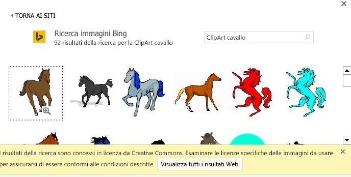 """La ricerca di """"ClipArt di cavalli"""" offre un'ampia varietà di immagini con licenza Creative Commons."""