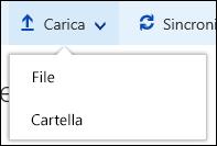 Office 365 - Caricare una cartella o file in una raccolta documenti
