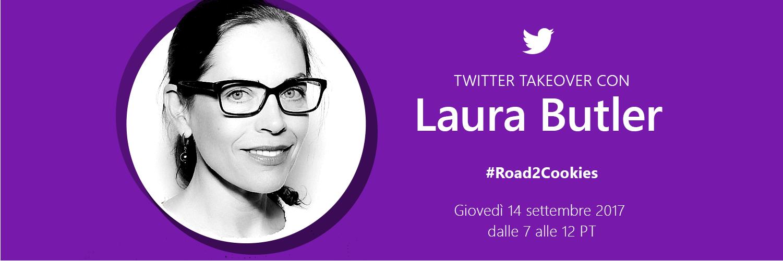 Evento Twitter Takeover con Laura Butler