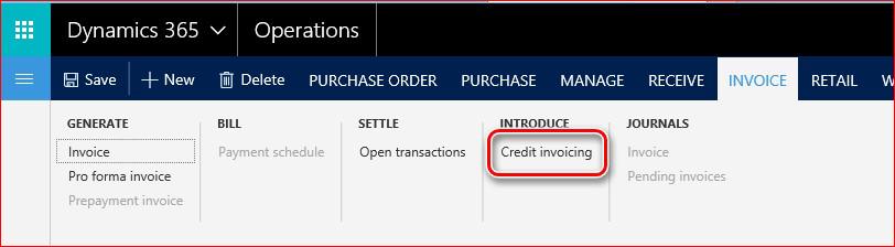 Questa immagine mostra come trovare il credito, la funzionalità di fatturazione.