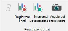Registrare i dati