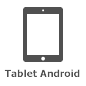 Icona del tablet Android