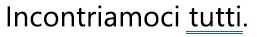 Errore grammaticale contrassegnato da una sottolineatura doppia blu