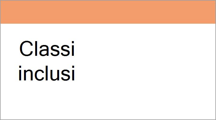 Immagine di intestazione per classi inclusi