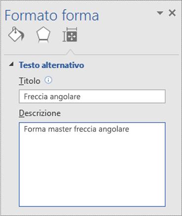 Rendere accessibile il diagramma di visio supporto di office for Disegno una finestra testo