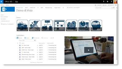 Incorporare un video di Office 365 in un sito