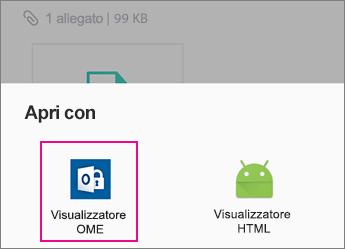 Visualizzatore OME con Yahoo Mail su Android 2