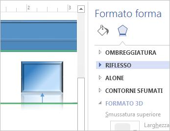 formattare forme
