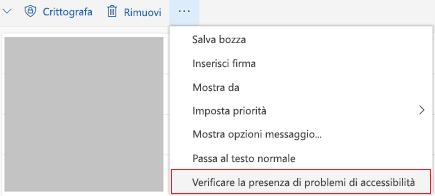 Strumento Verifica Outlook online per problemi di accessibilità