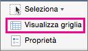 Nella scheda Layout selezionare Visualizza griglia