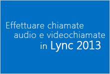 Anteprima del corso video Effettuare chiamate audio e videochiamate
