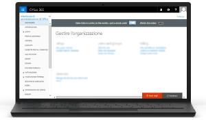 Illustrazione dell'interfaccia di amministrazione di Office 365 Altre informazioni sull'interfaccia di amministrazione di Office 365