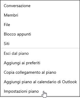 Ricevere messaggi di posta elettronica su un piano