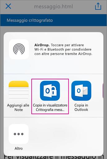 Visualizzatore Crittografia messaggi di Office 365 con Yahoo 3