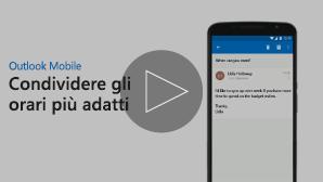 Anteprima per il video Inviare la disponibilità della riunione - fare clic per riprodurre