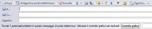 Invio della pubblicazione come messaggio di posta elettronica in Publisher 2010
