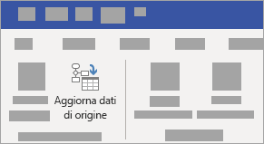 Selezionare il diagramma, in progettazione strumenti dati selezionare Aggiorna dati di origine.