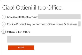 Recensire il prodotto Office