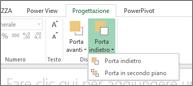 Disporre l'ordine di visualizzazione in Power View