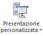 Pulsante presentazione personalizzata