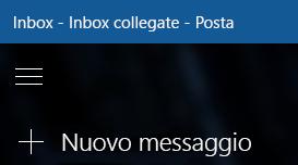 Scegliere Nuovo messaggio per comporre un nuovo messaggio