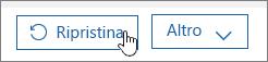 Ripristinare un utente in Office 365.