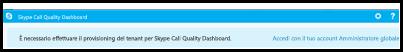Call Quality Dashboard - Accesso