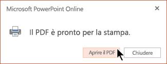 Il PDF è pronto