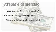 Esempio di diapositiva con un'immagine di sfondo
