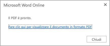 Fare clic per visualizzare il formato PDF