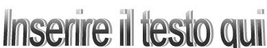 WordArt con formattazione normale in Publisher 2010