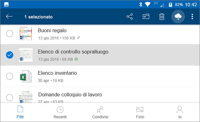 Rimanere online in OneDrive
