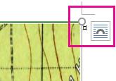 Icona Opzioni layout.